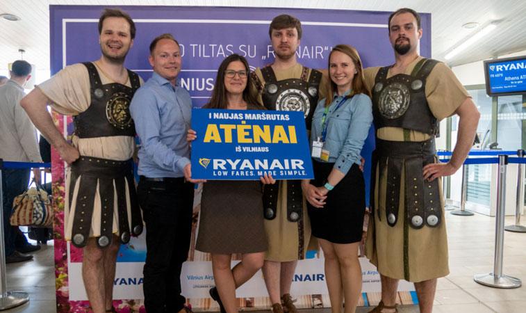 Ryanair Athens Vilnius