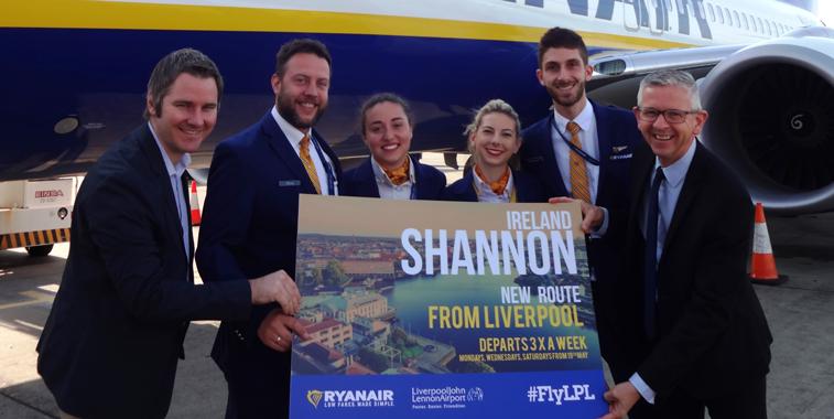 Ryanair Shannon Liverpool