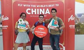 Philippines AirAsia returns to Hangzhou