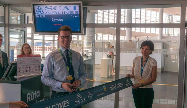 SCAT Airlines Vilnius