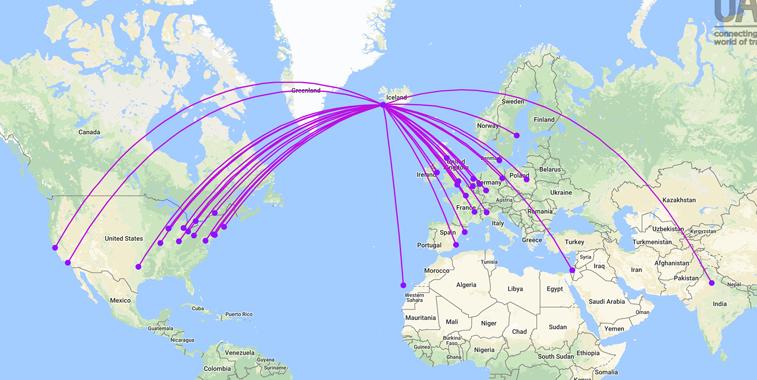 WOW air network