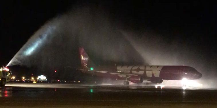 WOW air Cleveland