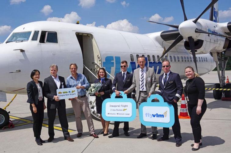 VLM Airlines Cologne Bonn