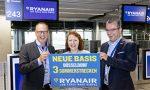 Ryanair opens its 86th European base