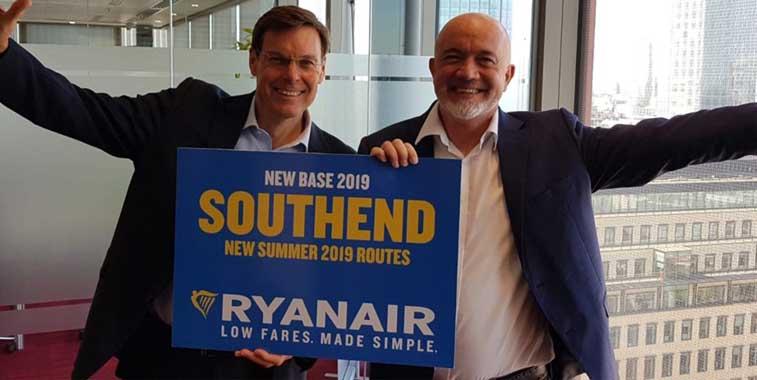 Ryanair, London Southend