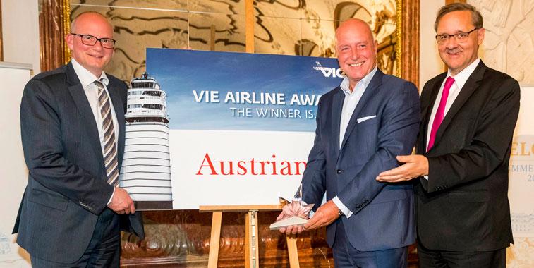 Vienna Airport Austrian Airlines