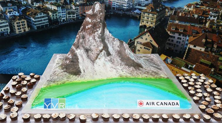 Air Canada Zurich Vancouver