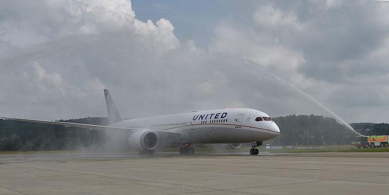 United Airlines Zurich