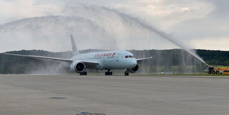 Air Canada Zurich