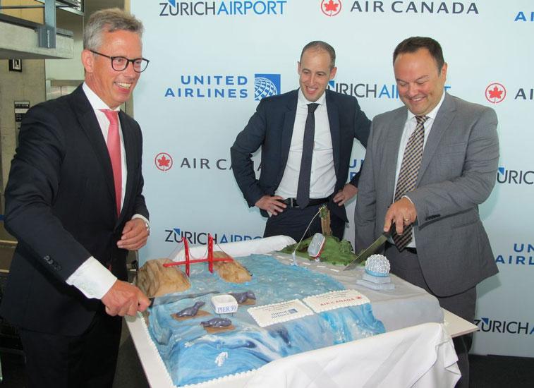 Zurich United Airlines San Francisco