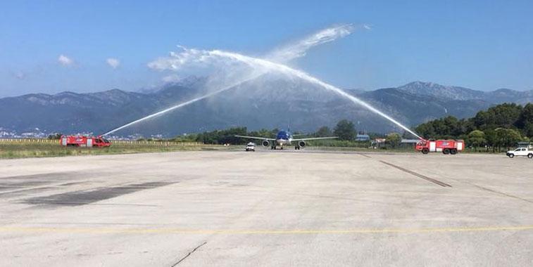 Azerbaijan Airlines Tivat