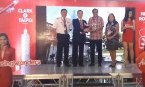 Philippines AirAsia touches down in Taipei Taoyuan