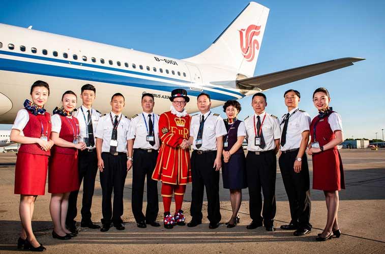 Air China, London Gatwick