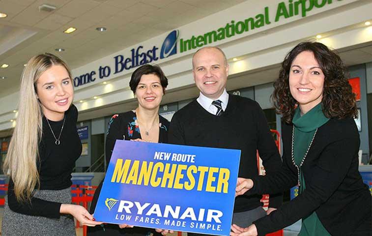 Ryanair, Belfast International