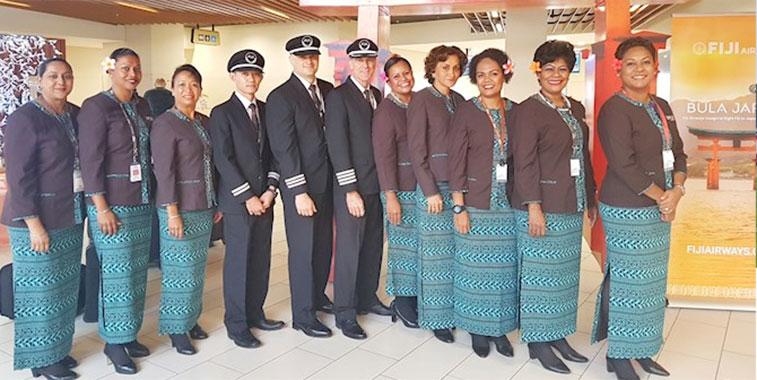 Fiji Airways Tokyo Narita