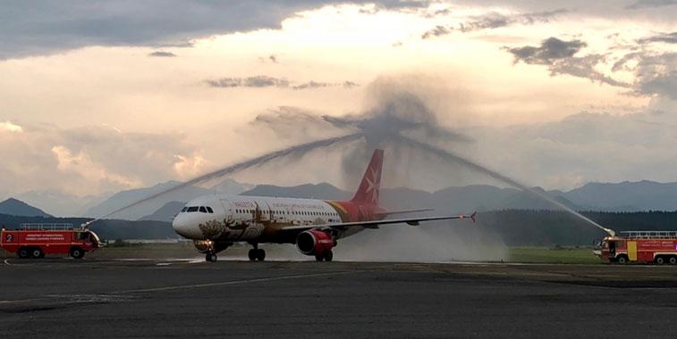 Air Malta Lourdes
