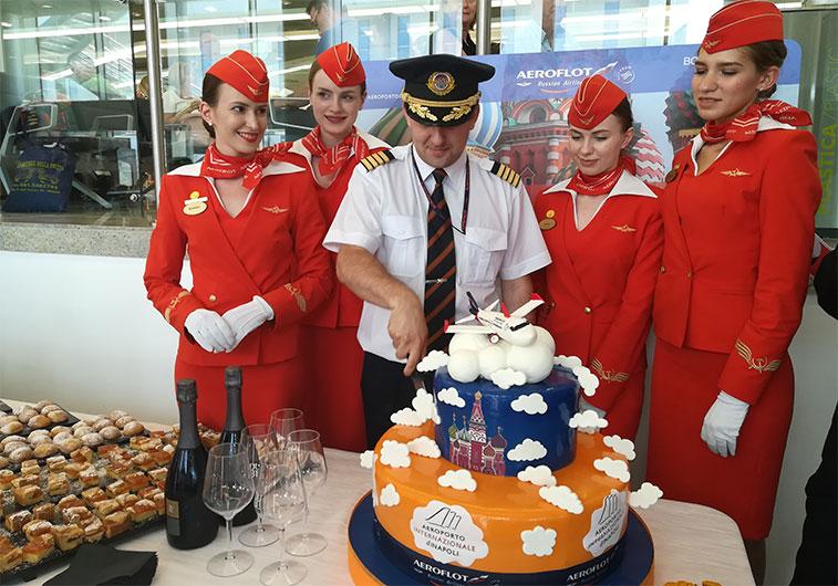 Aeroflot Naples