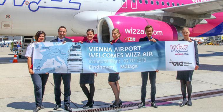 Wizz Air Eindhoven Vienna