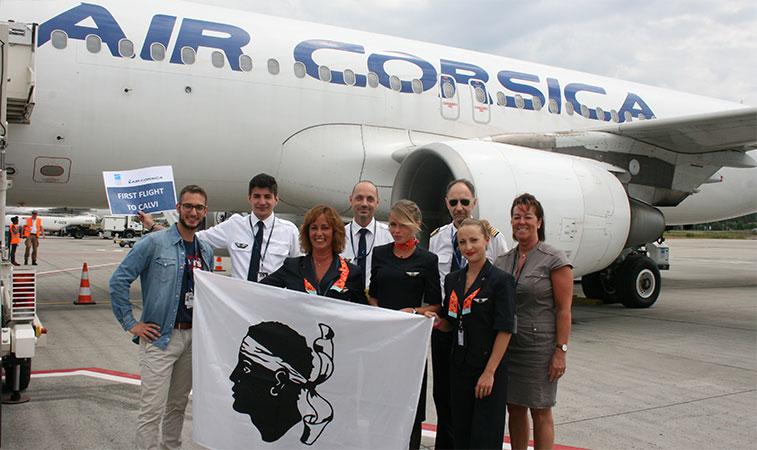 Air Corsica Brussels Charleroi
