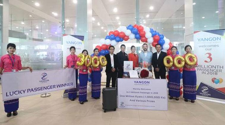 Yangon anniversary milestone