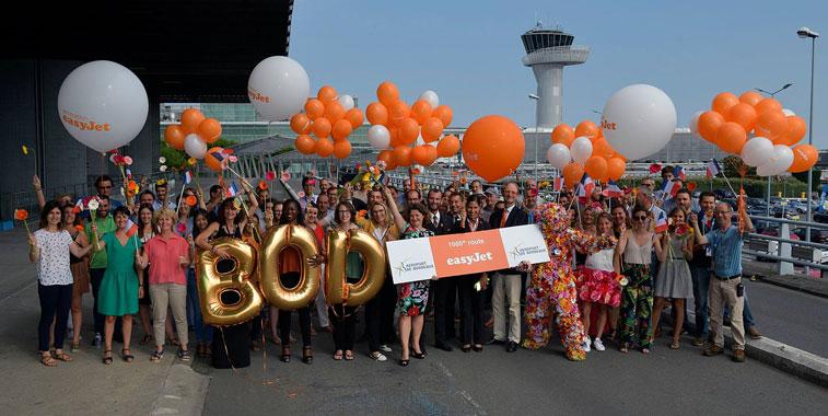easyJet 1,000 routes
