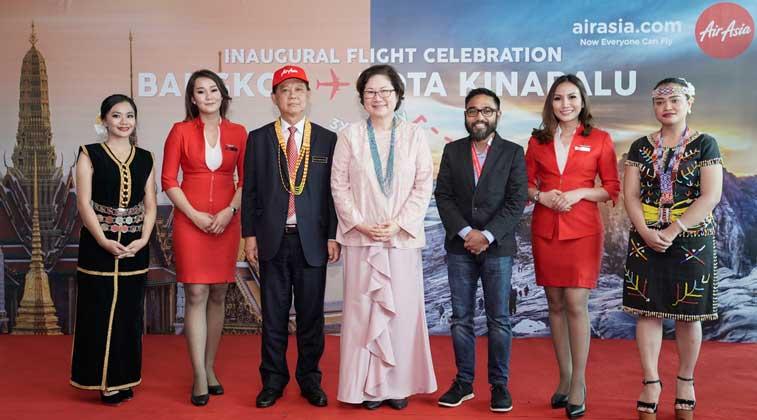 Thai AirAsia, Kota Kinabalu