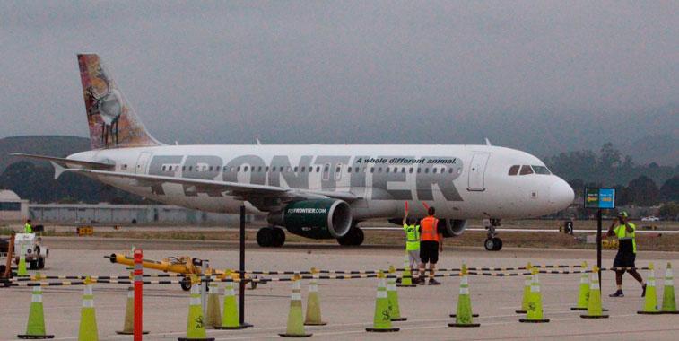 Frontier Airlines Santa Barbara