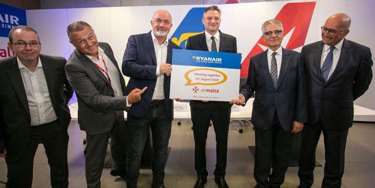 Ryanair and Air Malta