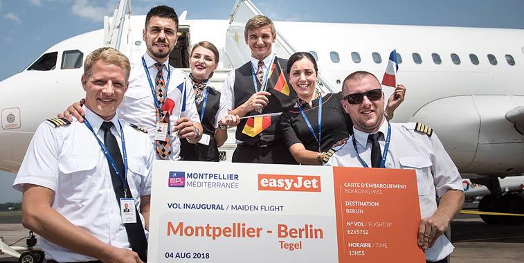 easyJet Montpellier