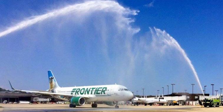 Frontier Airlines Norfolk