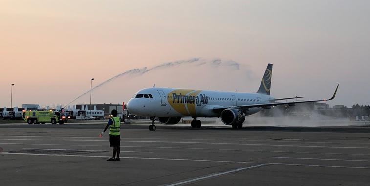 Primera Air Washington