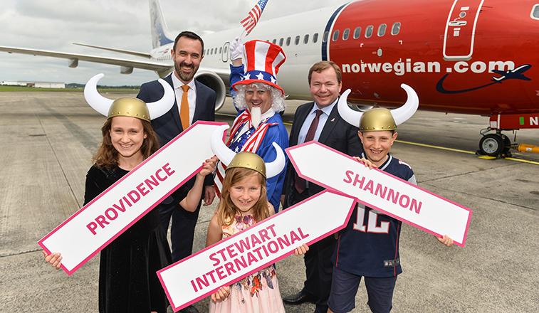 Norwegian, Shannon