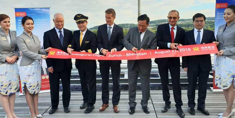 Hainan Airlines, Zurich
