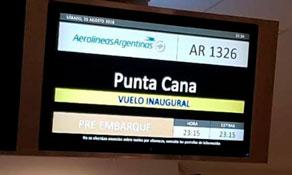 Aerolineas Argentinas produces second Punta Cana service