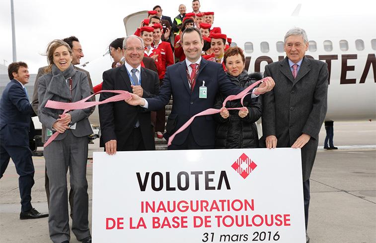 Volotea, Toulouse