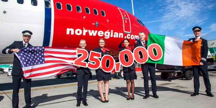 Norwegian, Irleand