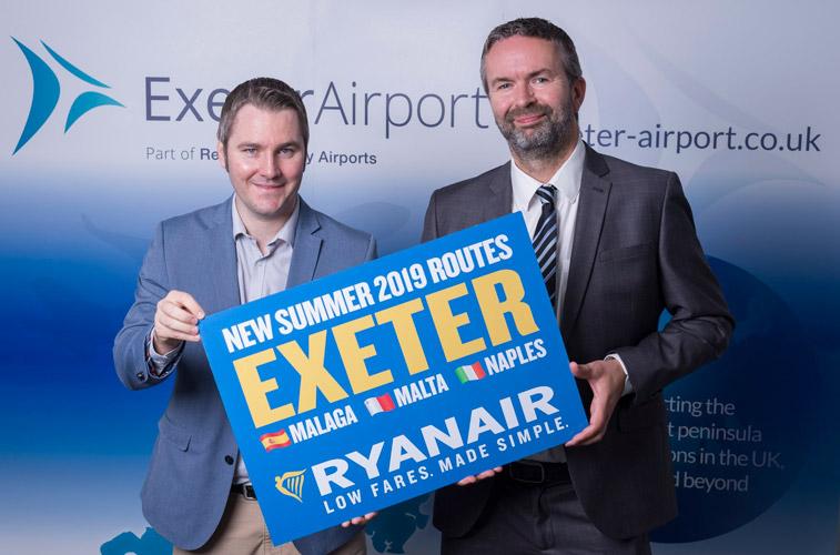 Ryanair EXETER