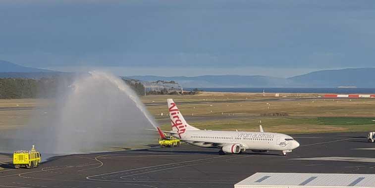 Virgin Australia Airlines, Hobart