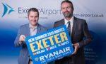 Ryanair announces Exeter as its latest UK destination