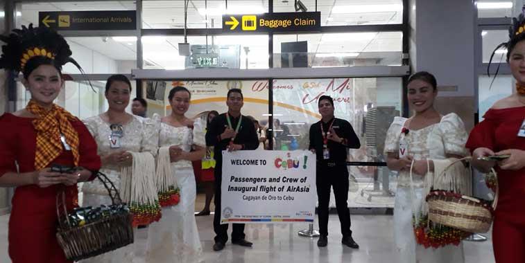 Philippines AirAsia, Cebu