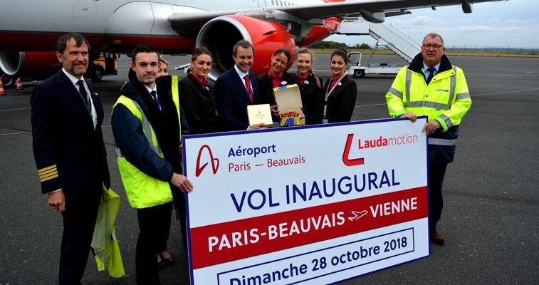 Laudamotion Paris Beauvais