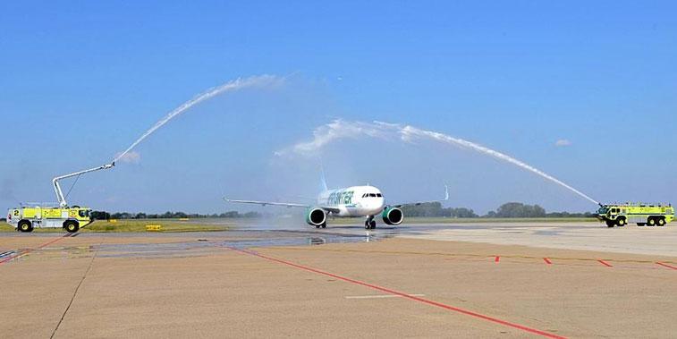 Frontier Airlines Huntsville