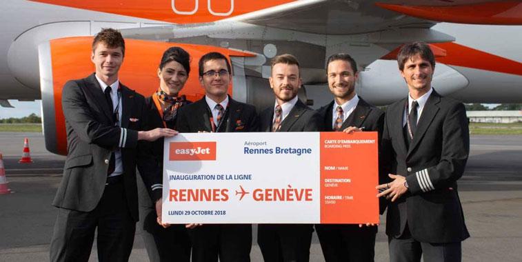 easyJet Rennes
