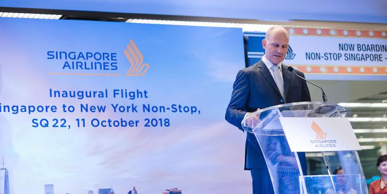 Singapore Airlines New York Newark
