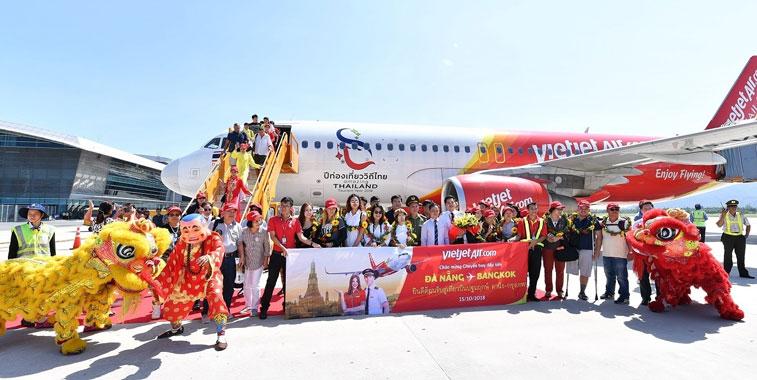 Thai VietJet Air Bangkok Da Nang