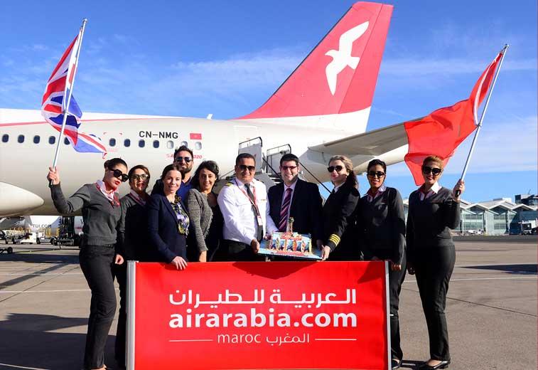 Air Arabia Maroc, Birmingham