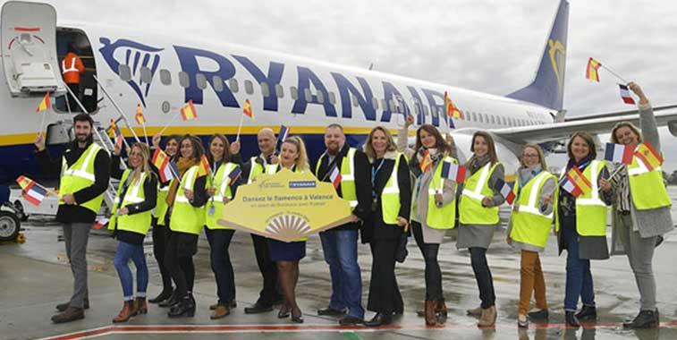 Ryanair, Bordeaux