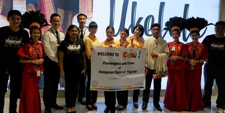 Tigerair Taiwan, Cebu