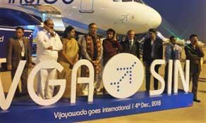 IndiGo goes international from Vijayawada