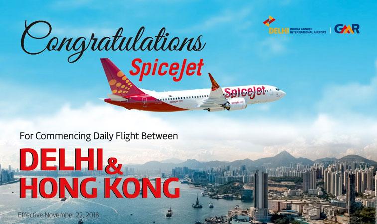 SpiceJet Hong Kong